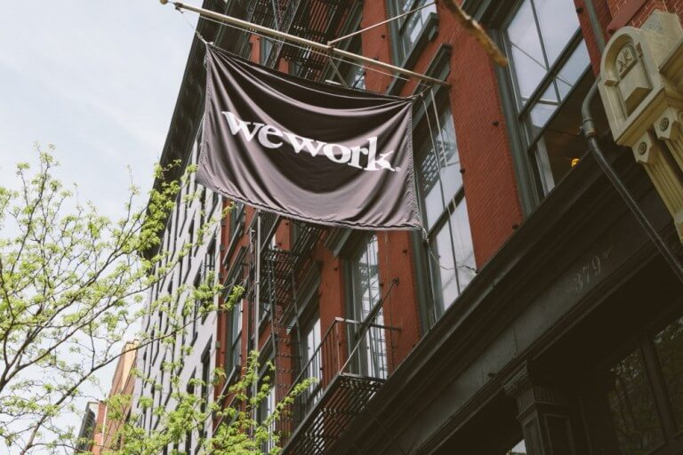 WeWork West Broadway in New York